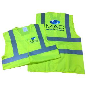 Mac Security Hi Vis Vest