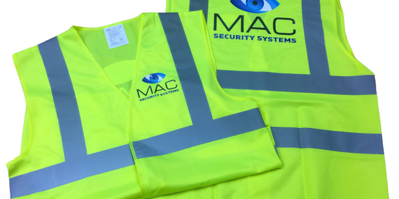 Mac Security Hi Vis Vest