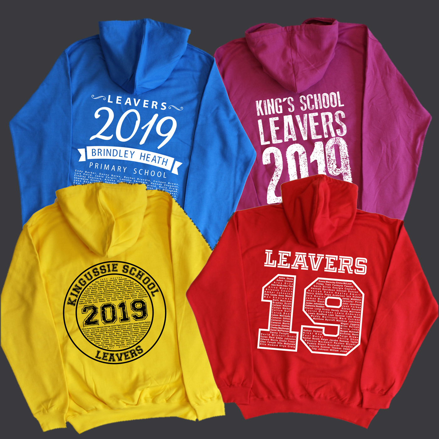 2019 Leavers Designs