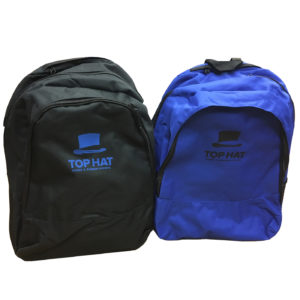 top hat stage school bags