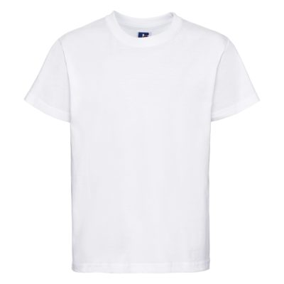 Premium children's round neck t-shirt - White