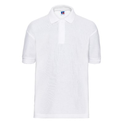 Premium Children's polo shirt - White