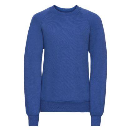 Children's raglan sleeve sweatshirt - Bright Blue